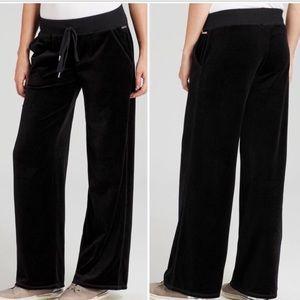 NWT Michael Kors Black Velour Pull On Pants